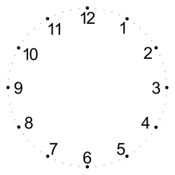 Make a CSS analog clock - Kequc